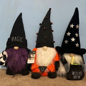 Rae Dunn Halloween Gnomes (3 )
